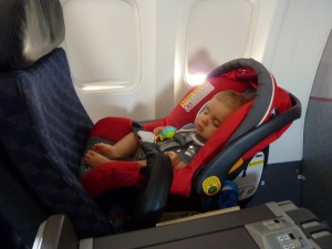 Actually SLEEPING on a plane!
