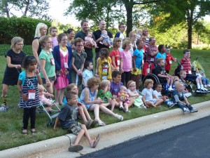 The Costello Kids At The Conference.  Can You Find Me?